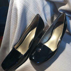 Circa Joan & David Voyeur Black Patent Leather Pum